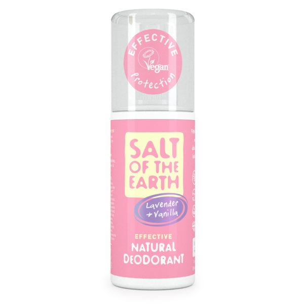 Salt of the Earth Pure Aura Natural Deodorant Spray - Lavender & Vanilla