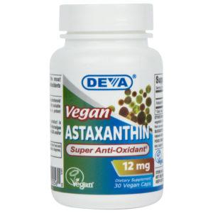 Deva Vegan Astaxanthin - 12mg