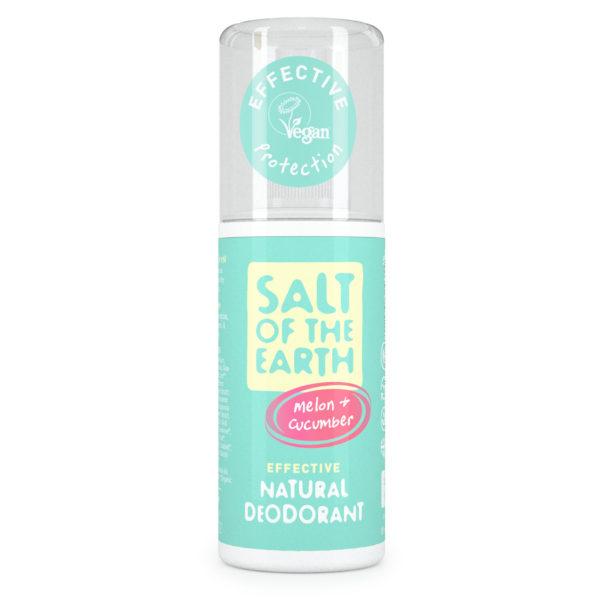 Salt of the Earth Pure Aura Natural Deodorant Spray - Melon & Cucumber