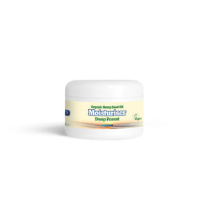Yaoh Organic Hemp Seed Oil Moisturising Cream - Deep Forest