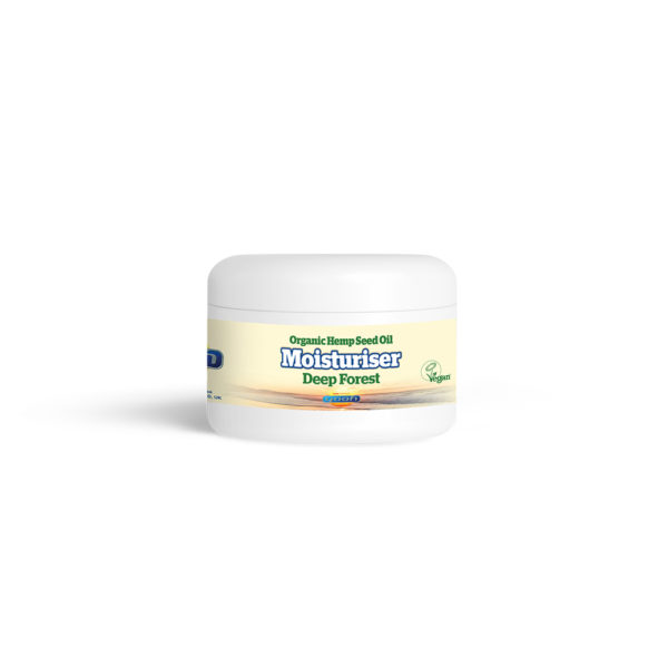 Yaoh Organic Hemp Seed Oil Moisturising Cream - Deep Forest