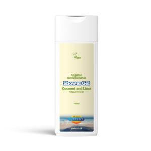 Yaoh Organic Hemp Seed Oil Shower Gel - Coconut & Lime