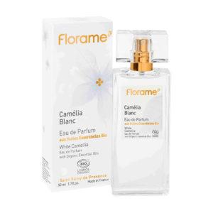 Florame Natural Vegan Perfume - White Camellia