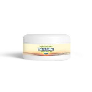 Yaoh Organic Hemp Seed Oil Body Butter - Coconut & Lime