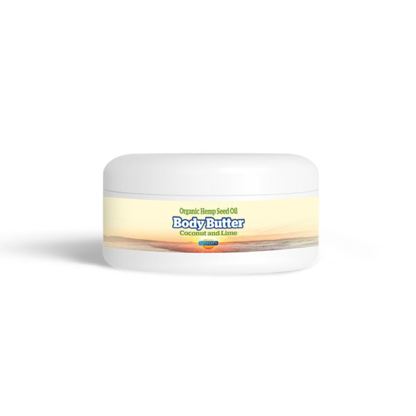 Yaoh Organic Hemp Seed Oil Body Butter - Coconut & Lime