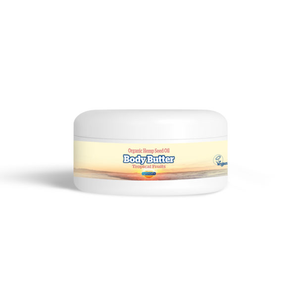 Yaoh Organic Hemp Seed Oil Body Butter - Tropical Fruits
