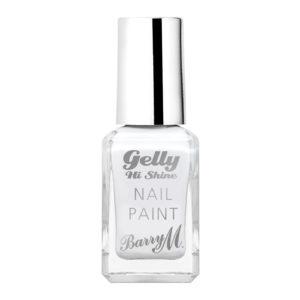 Barry M Cosmetics Gelly Hi Shine Nail Paint - Cotton White (no. 35)