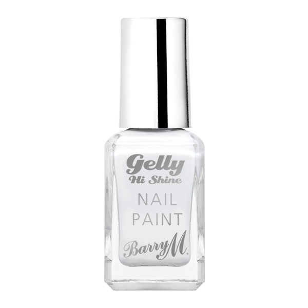 Barry M Cosmetics Gelly Hi Shine Nail Paint - Cotton White (no. 35)