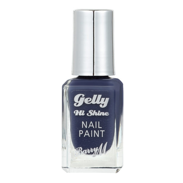 Barry M Cosmetics Gelly Hi Shine Nail Paint - Blue Jade (no. 49)