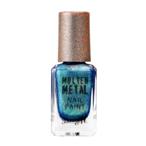 Barry M Cosmetics Molten Metal Nail Paint - Crystal Blue (no. 17)