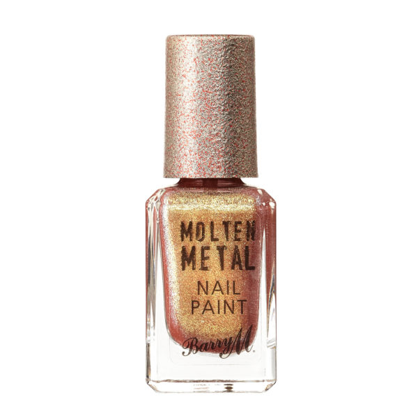 Barry M Cosmetics Molten Metal Nail Paint - Golden Hour (no. 20)