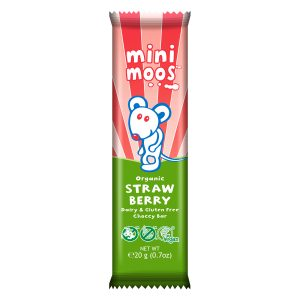 Moo Free Mini Moos Strawberry Bar