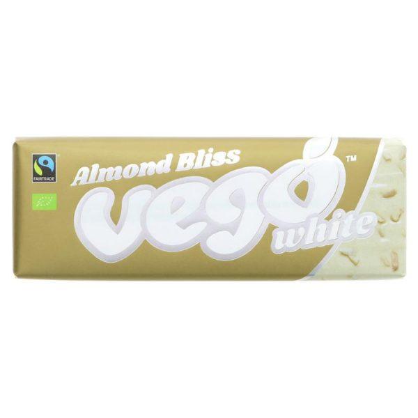 Vego Almond Bliss White Chocolate Bar