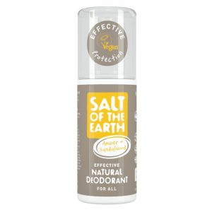 Salt of the Earth Natural Deodorant Spray - Amber & Sandalwood