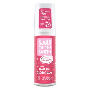 Salt of the Earth Natural Deodorant Spray - Sweet Strawberry