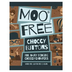 Moo Free Choccy Buttons - Original