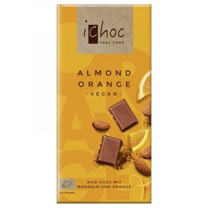 iChoc Almond Orange Bar