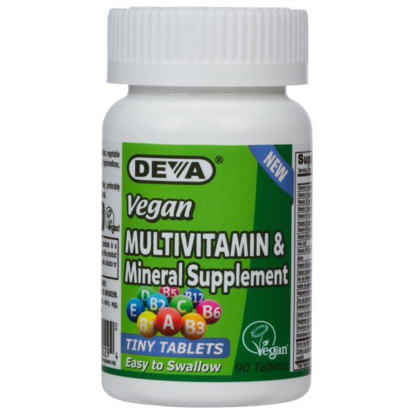 Deva Vegan Tiny Tablets Multivitamin & Mineral