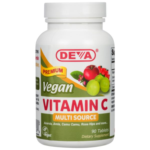 Deva Vegan Vitamin C - Multi-Source
