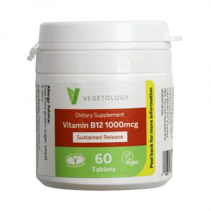 Vegetology Vitamin B12 - 1000mcg